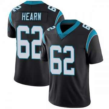 Men's Taylor Hearn Carolina Panthers Nike Limited Team Color Vapor Untouchable Jersey - Black