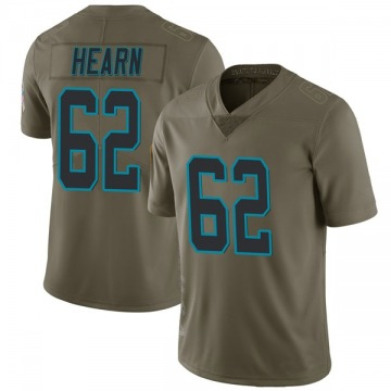 Youth Taylor Hearn Carolina Panthers Nike Limited 2017 Salute to Service Jersey - Green
